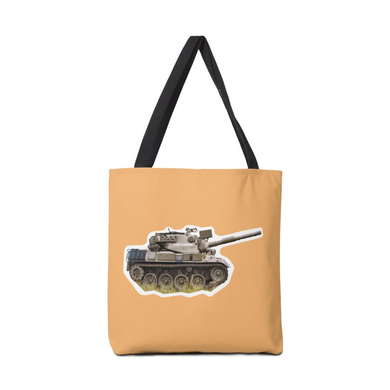 Mini Leopard I Main Battle Tank Accessories Bag by Pixel Panzers's Merchandise