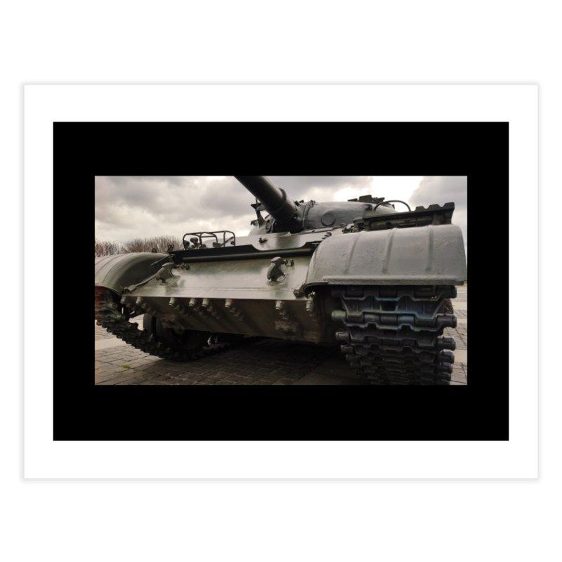 Soviet era T-62 Main Battle Tank - Right Home Fine Art Print by Pixel Panzers's Merchandise