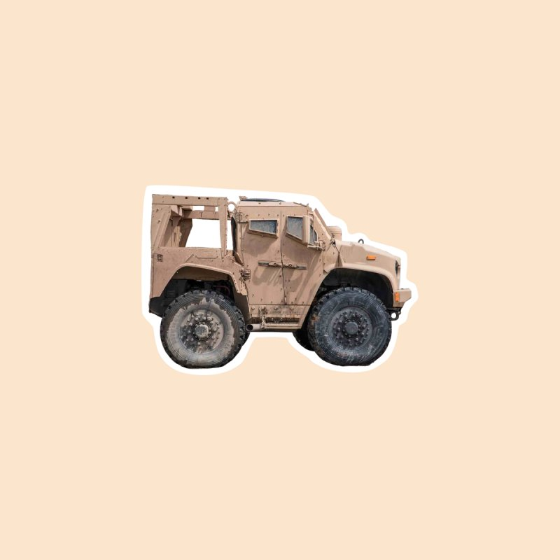 Mini Oshkosh 4x4 by Pixel Panzers's Merchandise