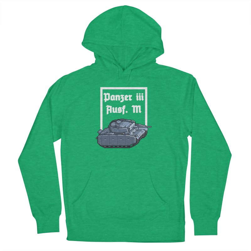 Panzer III Ausf. M Women's French Terry Pullover Hoody by Pixel Panzers's Merchandise