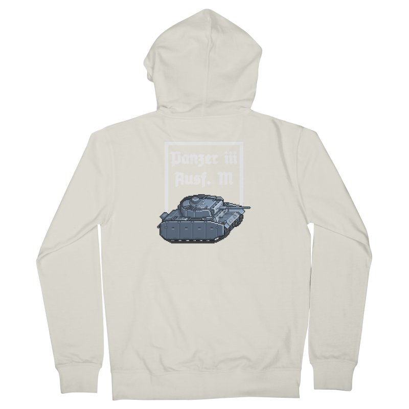 Panzer III Ausf. M Women's French Terry Zip-Up Hoody by Pixel Panzers's Merchandise