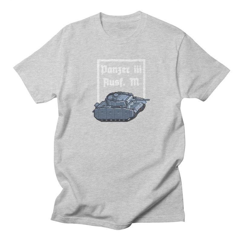 Panzer III Ausf. M Women's Regular Unisex T-Shirt by Pixel Panzers's Merchandise