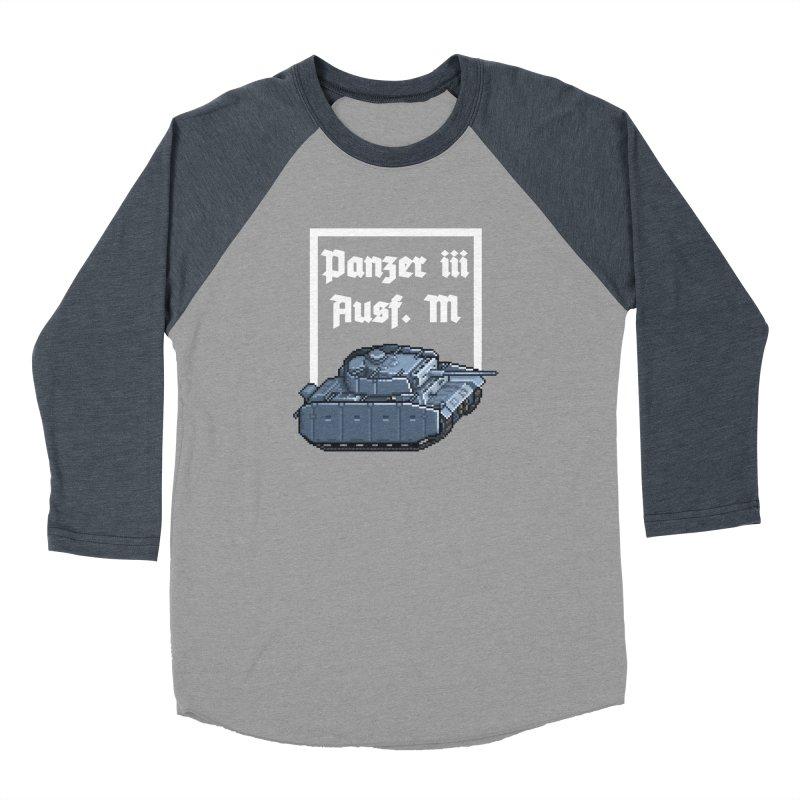 Panzer III Ausf. M Women's Baseball Triblend Longsleeve T-Shirt by Pixel Panzers's Merchandise