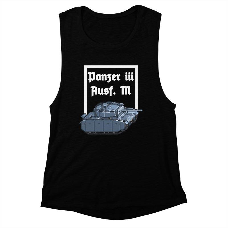 Panzer III Ausf. M Women's Muscle Tank by Pixel Panzers's Merchandise