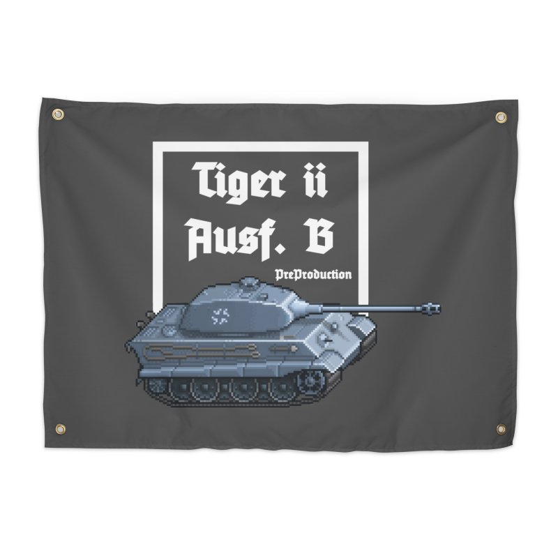 Pzkpfw VI Tiger II Ausf. B Early Production Home Tapestry by Pixel Panzers's Merchandise