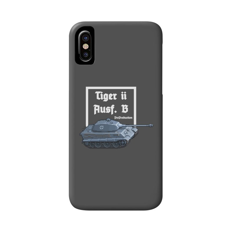 Pzkpfw VI Tiger II Ausf. B Early Production Accessories Phone Case by Pixel Panzers's Merchandise