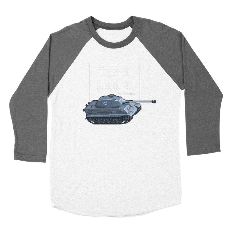 Pzkpfw VI Tiger II Ausf. B Early Production Women's Longsleeve T-Shirt by Pixel Panzers's Merchandise