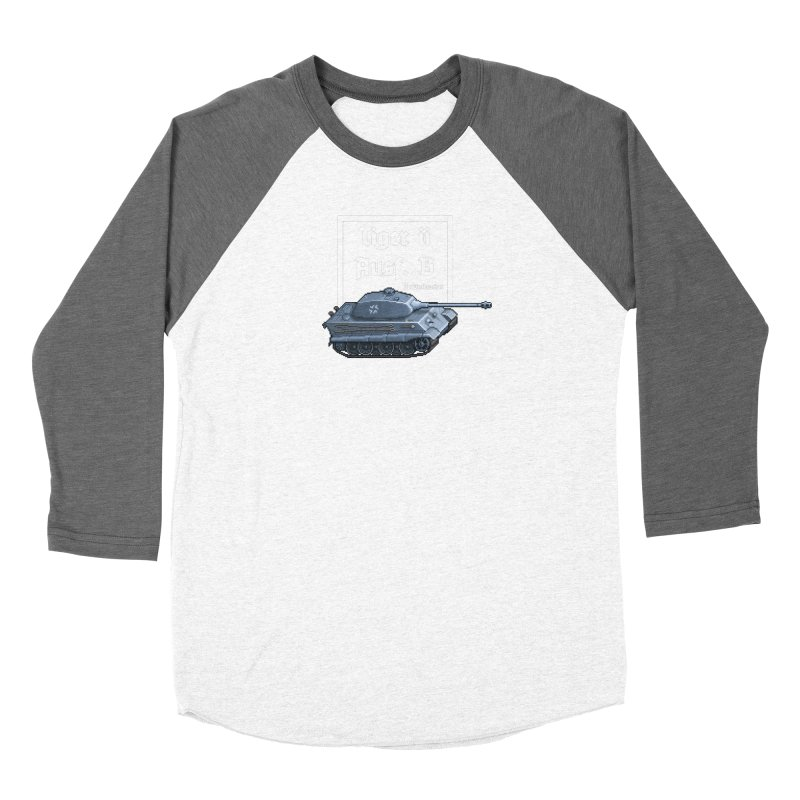 Pzkpfw VI Tiger II Ausf. B Early Production Women's Longsleeve T-Shirt by Pixel Panzers's Merchandise