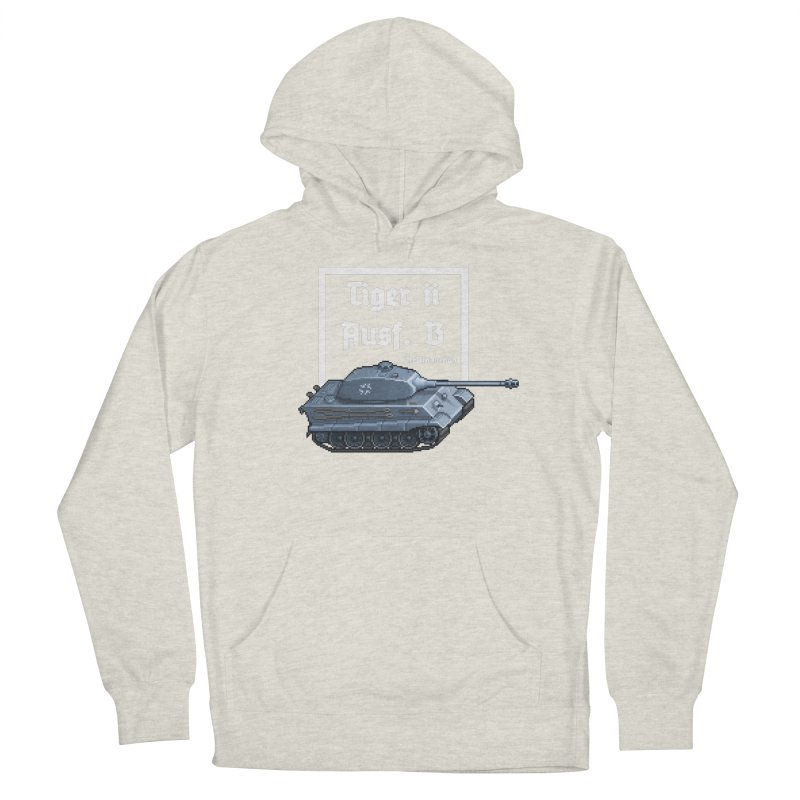Pzkpfw VI Tiger II Ausf. B Early Production Women's Pullover Hoody by Pixel Panzers's Merchandise