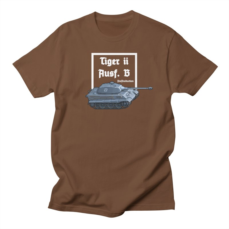 Pzkpfw VI Tiger II Ausf. B Early Production Women's Unisex T-Shirt by Pixel Panzers's Merchandise