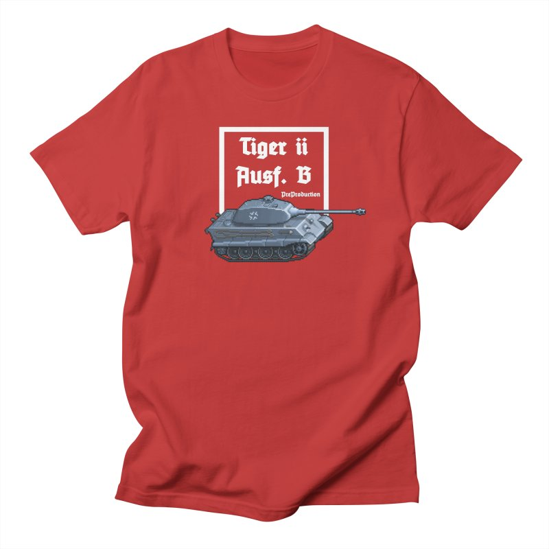 Pzkpfw VI Tiger II Ausf. B Early Production Women's Regular Unisex T-Shirt by Pixel Panzers's Merchandise