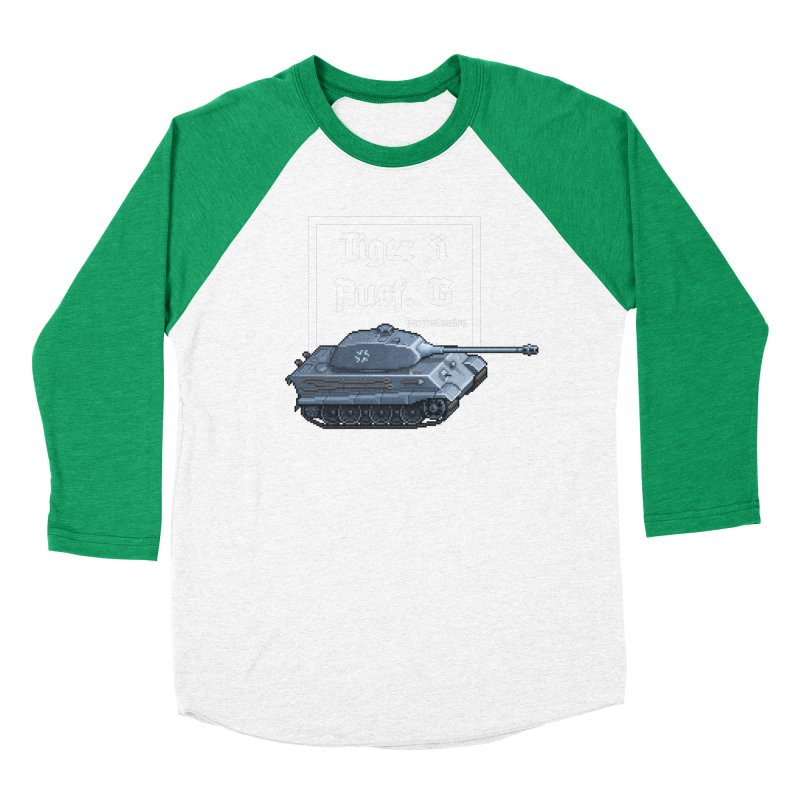 Pzkpfw VI Tiger II Ausf. B Early Production Women's Baseball Triblend Longsleeve T-Shirt by Pixel Panzers's Merchandise