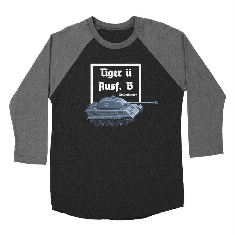 Pzkpfw VI Tiger II Ausf. B Early Production Women's Baseball Triblend Longsleeve T-Shirt by Pixel Panzers's Merchandise