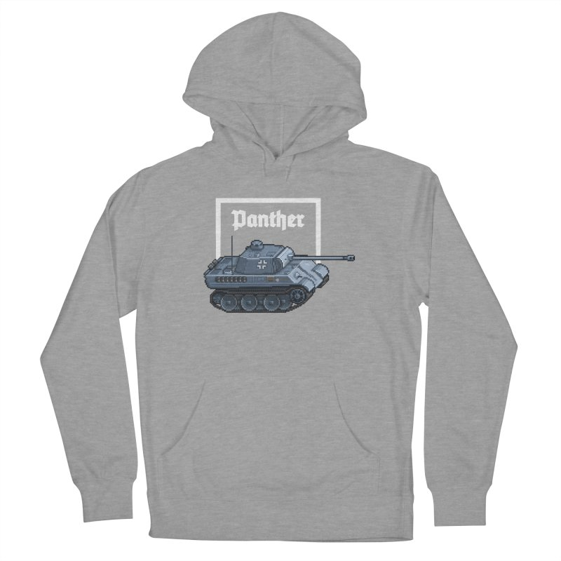 Panther - Pzkpf V. Women's French Terry Pullover Hoody by Pixel Panzers's Merchandise