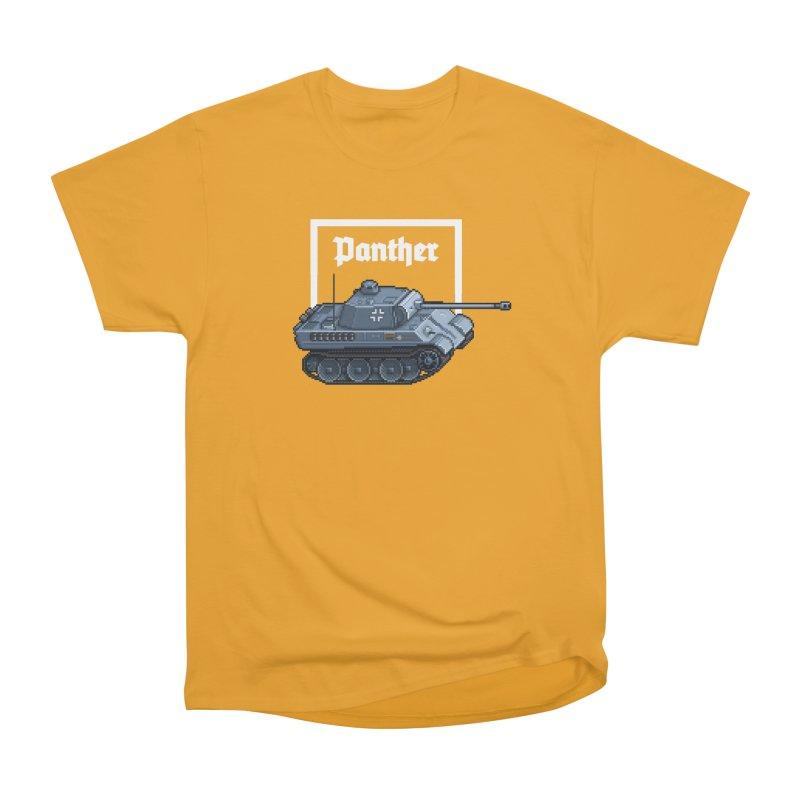 Panther - Pzkpf V. Women's Heavyweight Unisex T-Shirt by Pixel Panzers's Merchandise