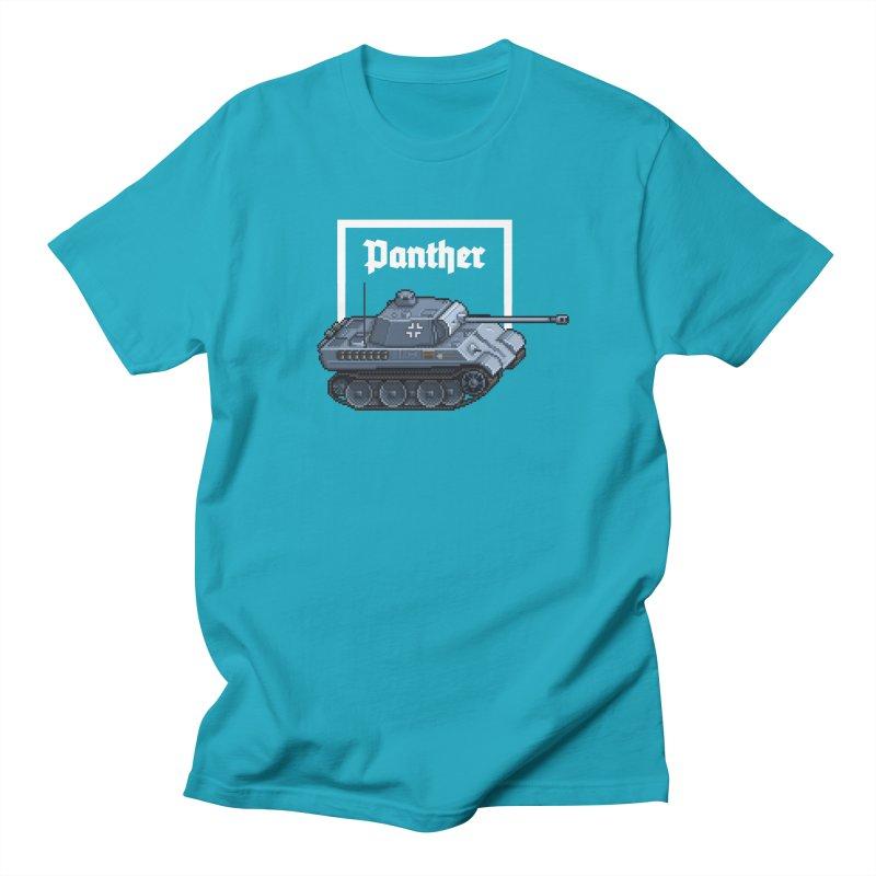 Panther - Pzkpf V. Women's Regular Unisex T-Shirt by Pixel Panzers's Merchandise