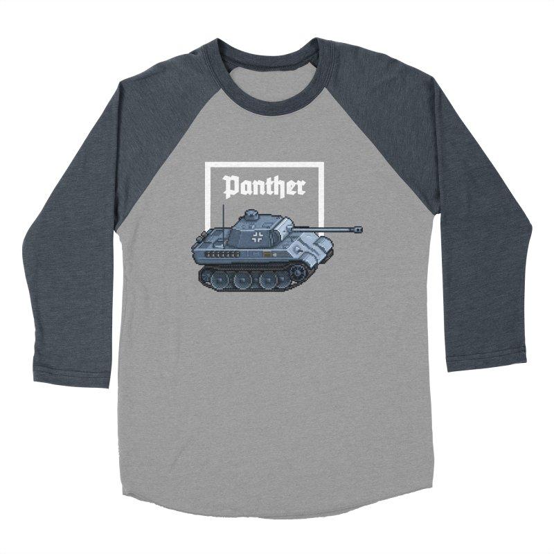 Panther - Pzkpf V. Women's Baseball Triblend Longsleeve T-Shirt by Pixel Panzers's Merchandise