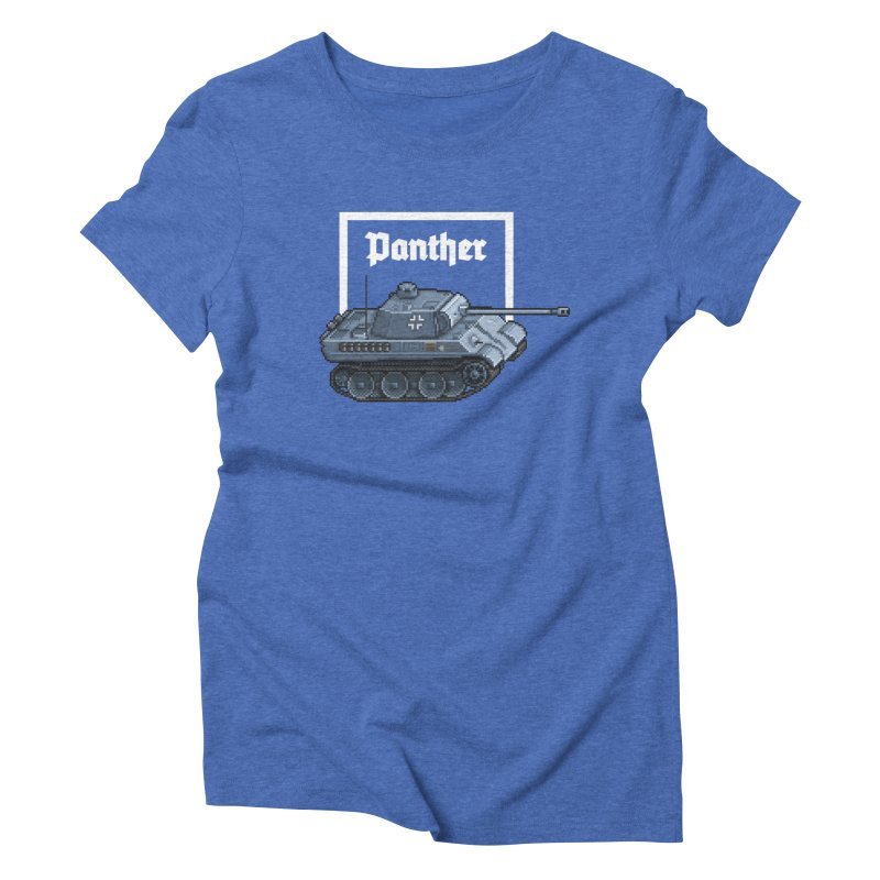 Panther - Pzkpf V. Women's Triblend T-Shirt by Pixel Panzers's Merchandise