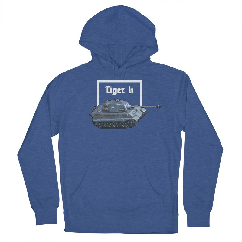 Tiger II Women's French Terry Pullover Hoody by Pixel Panzers's Merchandise