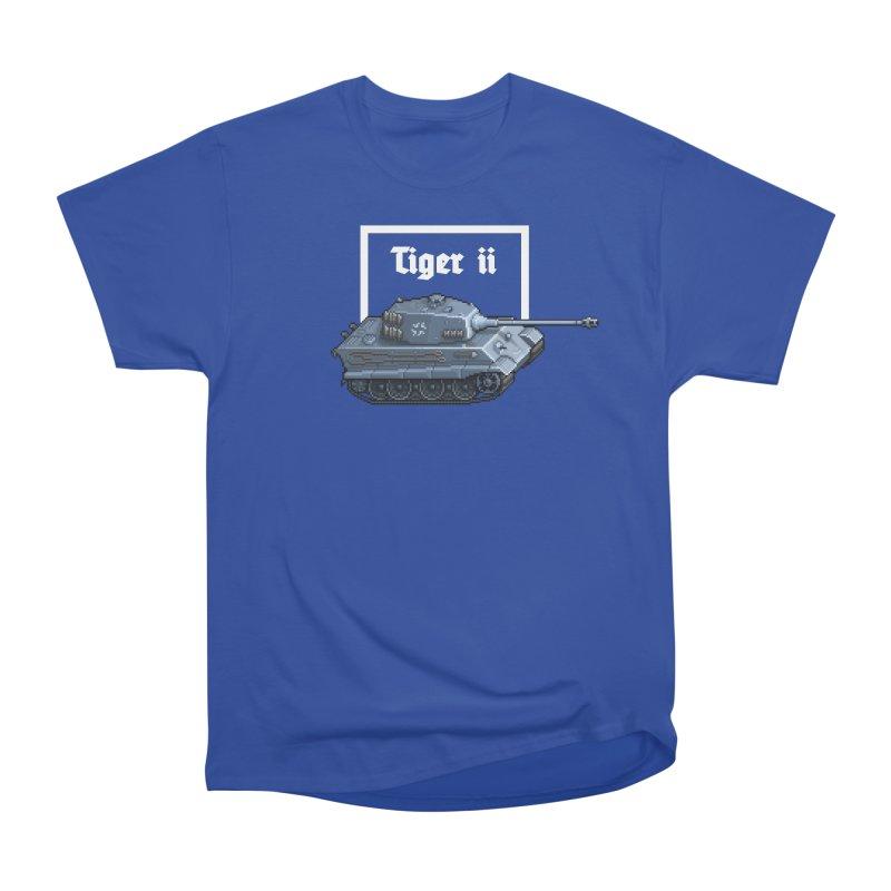 Tiger II Women's Heavyweight Unisex T-Shirt by Pixel Panzers's Merchandise