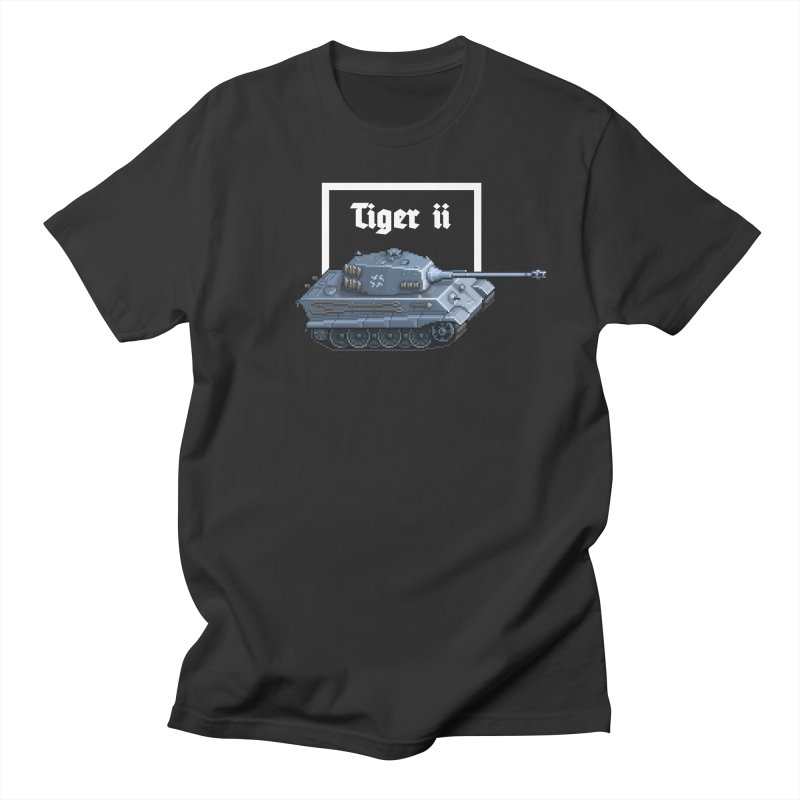 Tiger II Women's Regular Unisex T-Shirt by Pixel Panzers's Merchandise