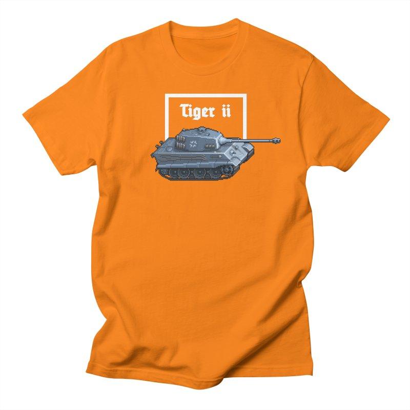 Tiger II Women's Regular Unisex T-Shirt by Pixel Panzers's Merchandise