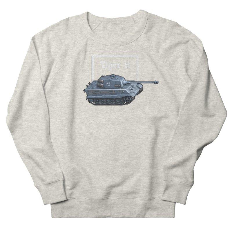 Tiger II Women's French Terry Sweatshirt by Pixel Panzers's Merchandise