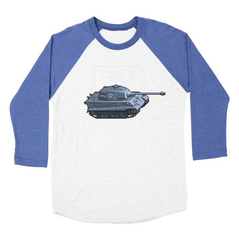 Tiger II Women's Baseball Triblend Longsleeve T-Shirt by Pixel Panzers's Merchandise