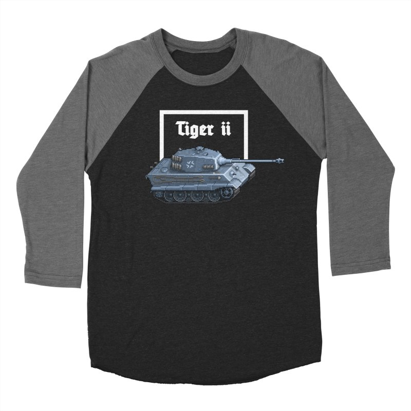 Tiger II Women's Baseball Triblend T-Shirt by Pixel Panzers's Merchandise