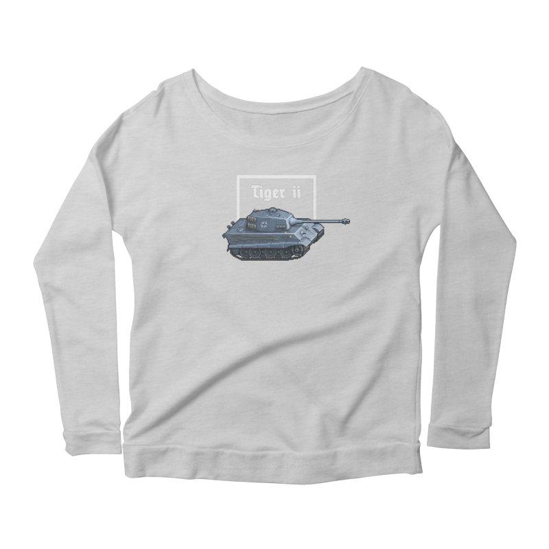 Tiger II Women's Scoop Neck Longsleeve T-Shirt by Pixel Panzers's Merchandise