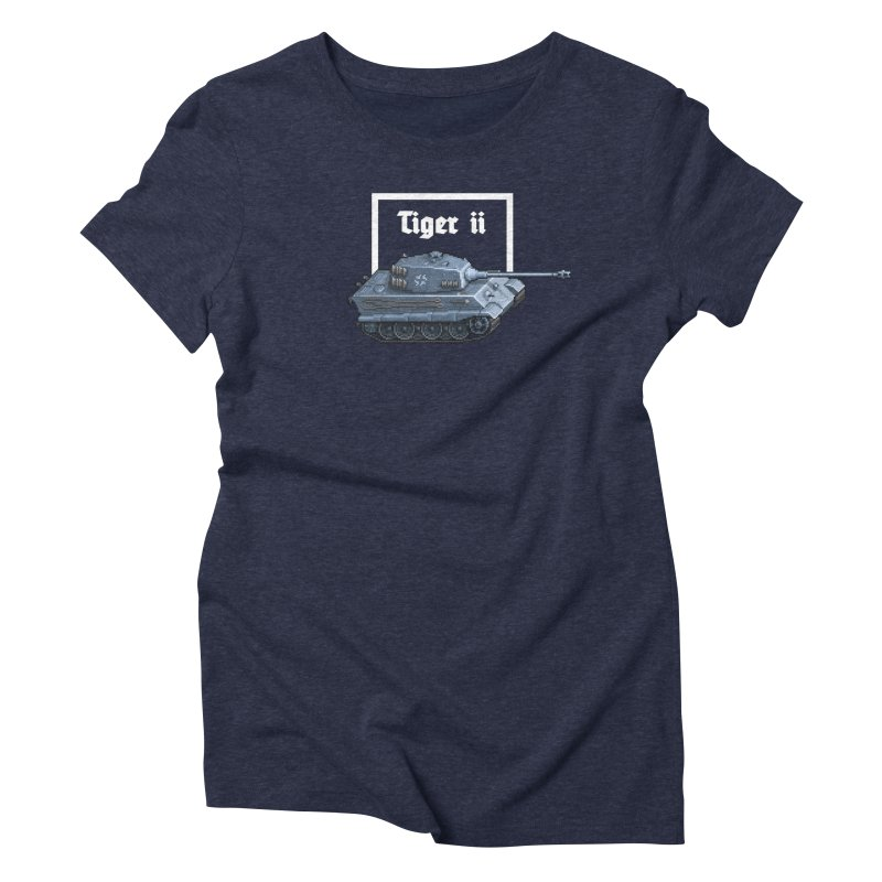 Tiger II Women's Triblend T-Shirt by Pixel Panzers's Merchandise