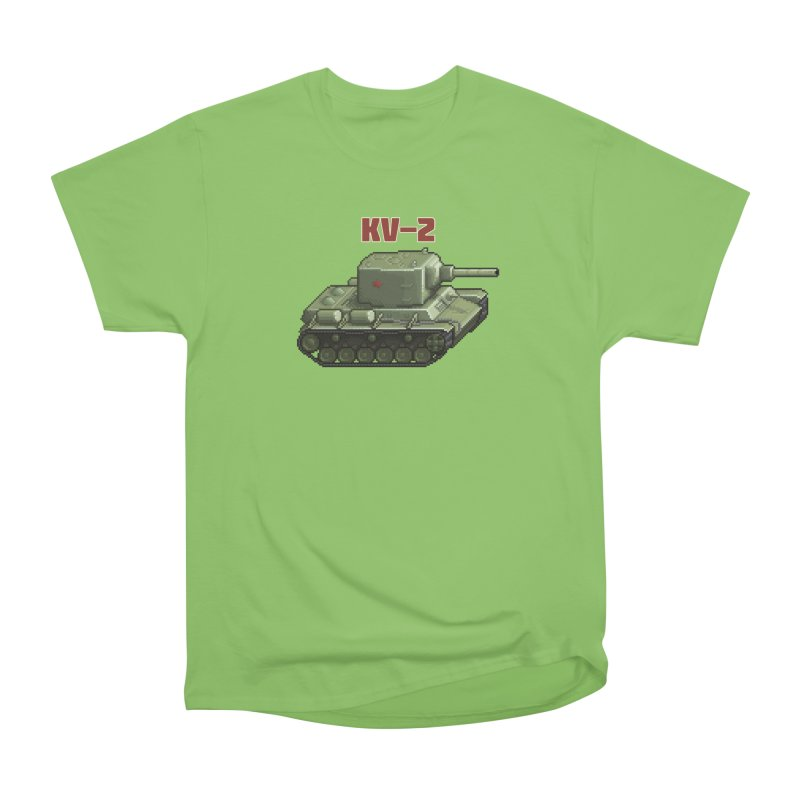 KV2 Women's Heavyweight Unisex T-Shirt by Pixel Panzers's Merchandise