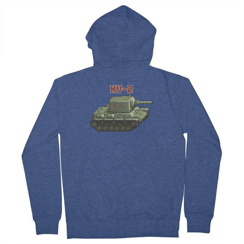 KV2 Women's French Terry Zip-Up Hoody by Pixel Panzers's Merchandise