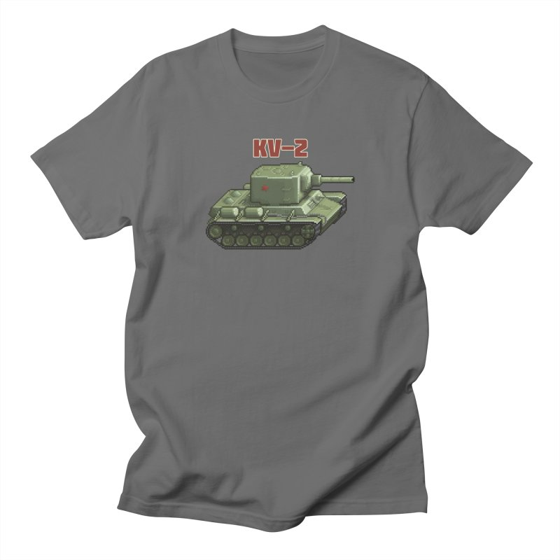 KV2 Women's Regular Unisex T-Shirt by Pixel Panzers's Merchandise