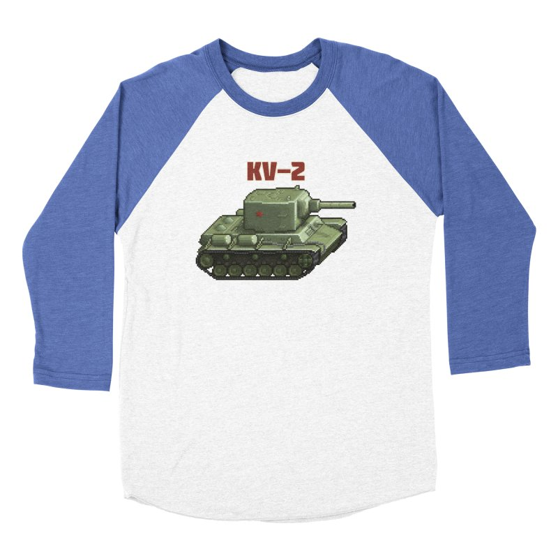 KV2 Women's Baseball Triblend Longsleeve T-Shirt by Pixel Panzers's Merchandise