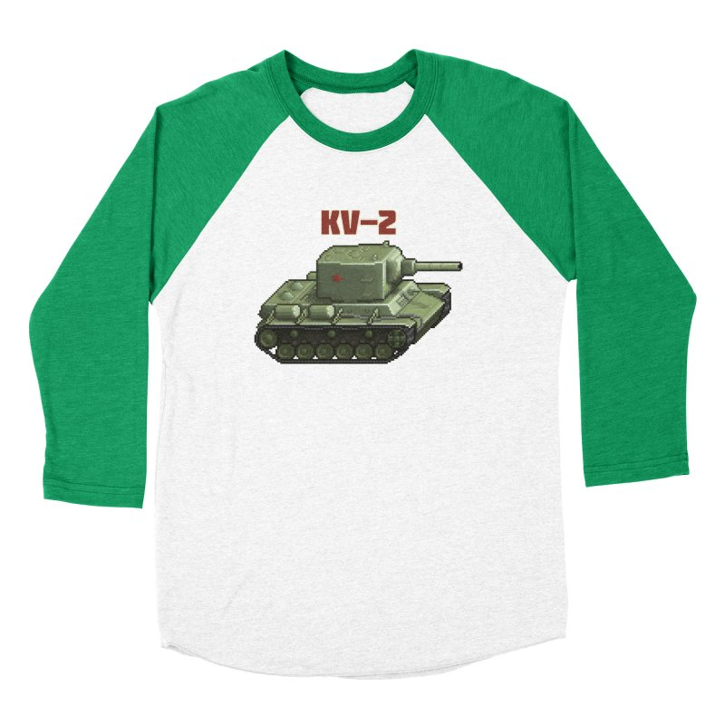 KV2 Women's Baseball Triblend T-Shirt by Pixel Panzers's Merchandise