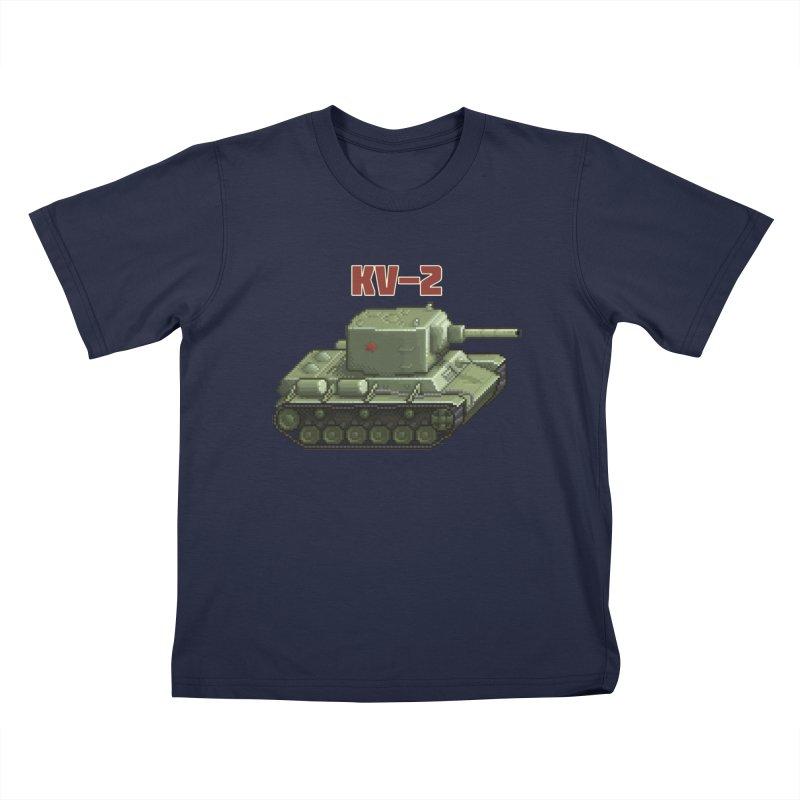 KV2 Kids Toddler T-Shirt by Pixel Panzers's Merchandise