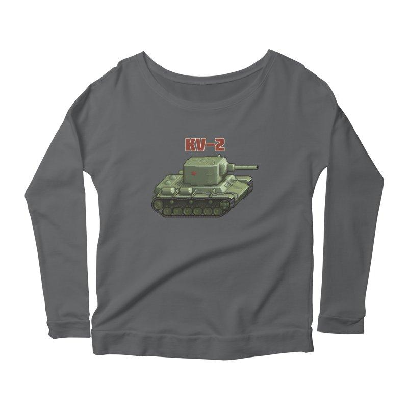 KV2 Women's Longsleeve Scoopneck  by Pixel Panzers's Merchandise
