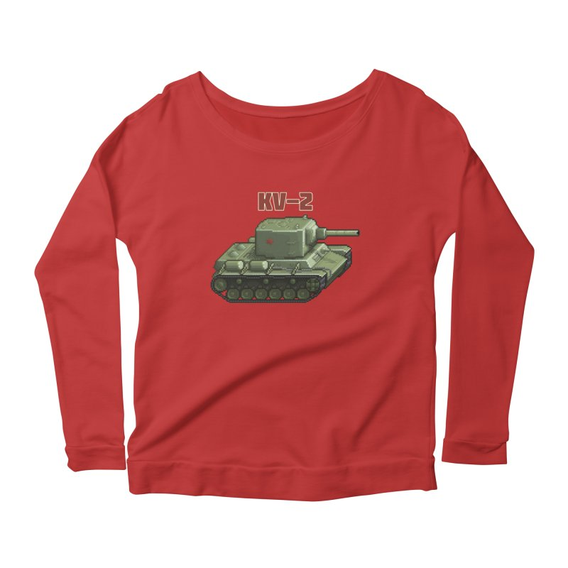 KV2 Women's Scoop Neck Longsleeve T-Shirt by Pixel Panzers's Merchandise
