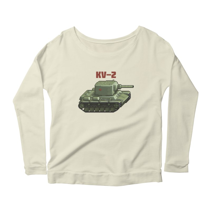 KV2 Women's Scoop Neck Longsleeve T-Shirt by Pixel Panzers's Merchandise