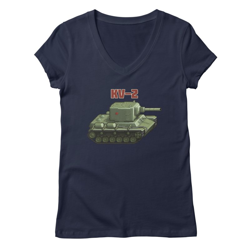 KV2 Women's Regular V-Neck by Pixel Panzers's Merchandise