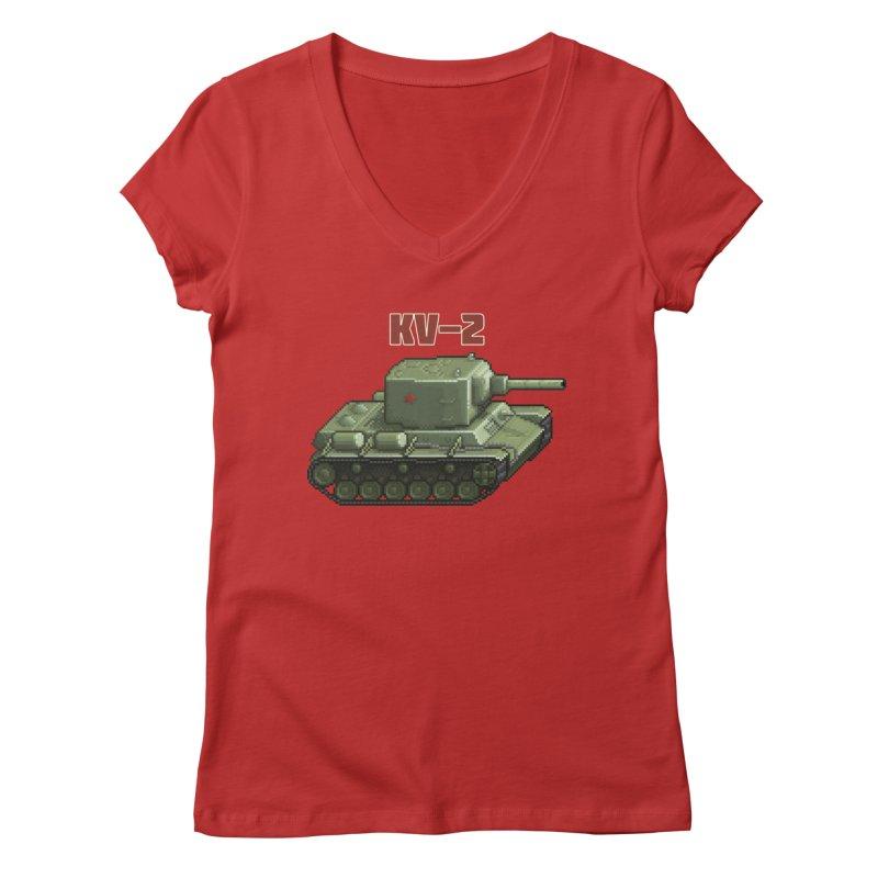 KV2 Women's Regular V-Neck by Pixel Panzers's Merchandise