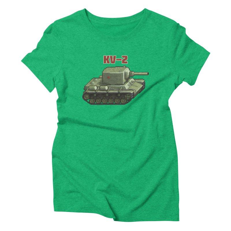 KV2 Women's Triblend T-Shirt by Pixel Panzers's Merchandise