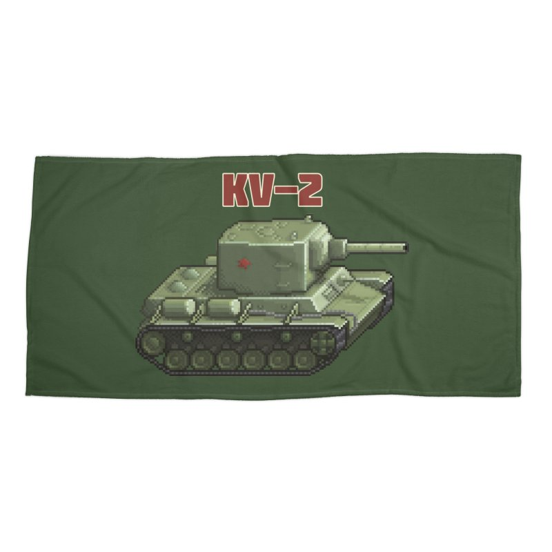 KV2 Accessories Beach Towel by Pixel Panzers's Merchandise