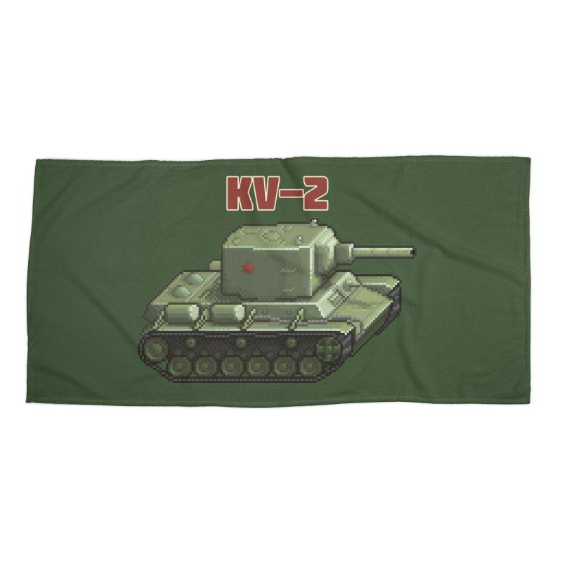 KV2 Accessories Beach Towel by Pixel Panzers's Merchandise