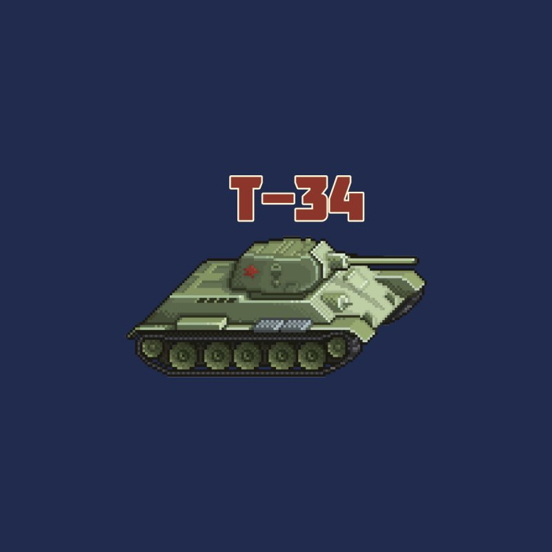 T-34 by Pixel Panzers's Merchandise