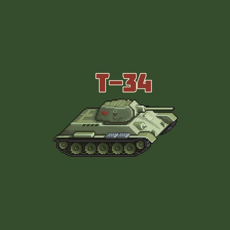 T-34 by Pixel Panzers's Merchandise