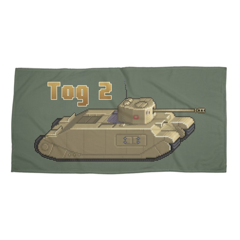 Tog 2 Accessories Beach Towel by Pixel Panzers's Merchandise