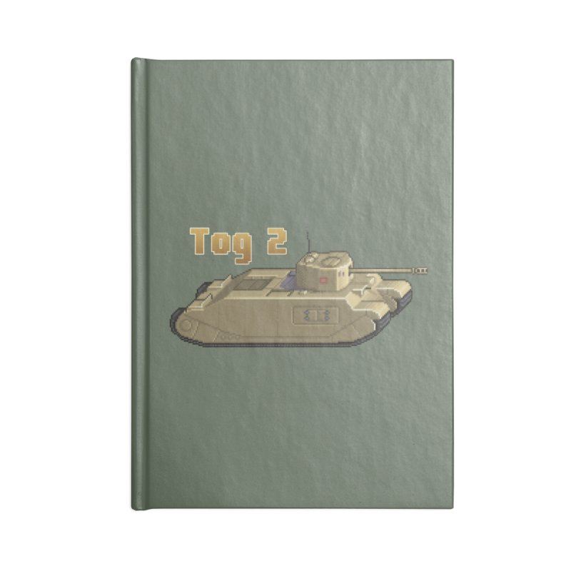 Tog 2 Accessories Notebook by Pixel Panzers's Merchandise