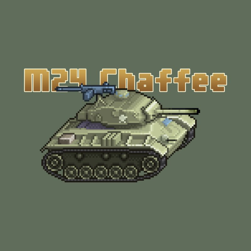 M24 Chaffee by Pixel Panzers's Merchandise
